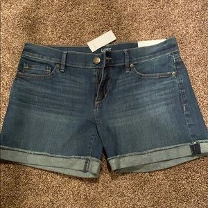 Loft Outlet Size 2 Denim Shorts - Brand New